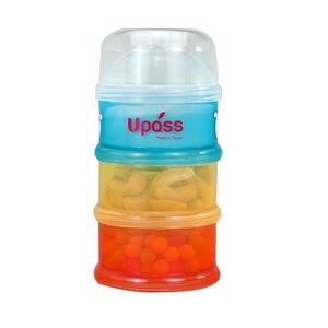 Hộp đựng sữa 3 ngăn không BPA Upass UP8001C