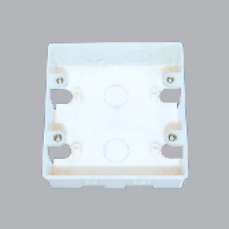Hộp nhựa âm tường đôi A157N2