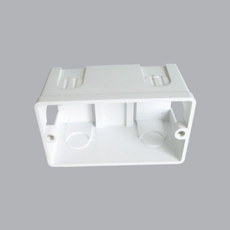 Hộp nhựa âm tường dùng cho MCB A157 MCB