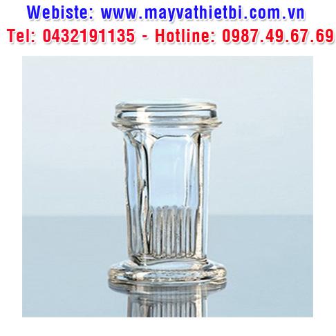 Hộp nhuộm lam loại Coplin thủy tinh soda-lime - DURAN
