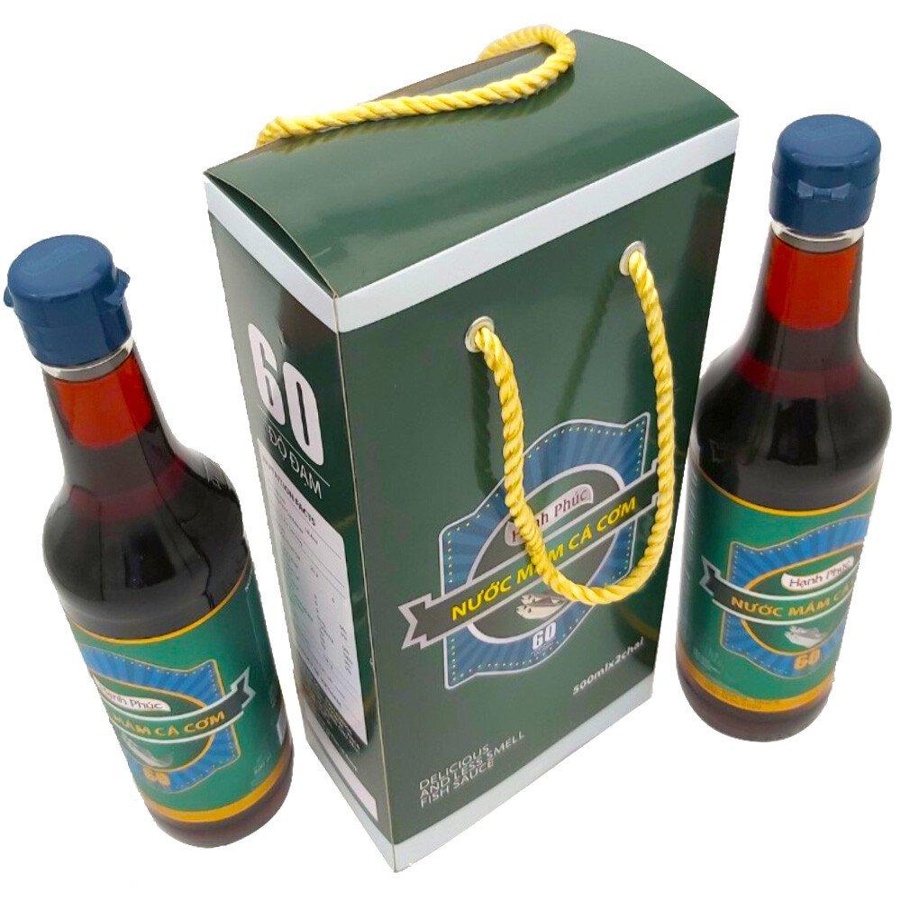 Hộp quà Nước mắm hạnh phúc - 2 chai - 500ml