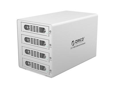 Hộp ổ cứng 3.5 4 khe cắm SATA 3 USB 3.0