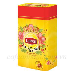 Hộp quà Bát Giác Trà Lipton Nhãn Vàng 30 gói