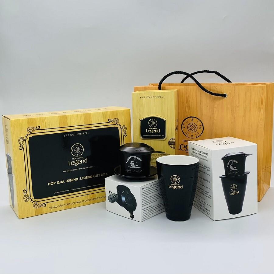 Bộ Hộp Quà tặng cà phê Trung Nguyên Legend