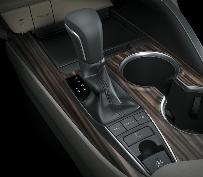 Hộp số tự động 6 cấp của xe Camry