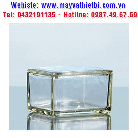Hộp thủy tinh dùng cho hộp nhuộm lam 2 bộ phận - DURAN