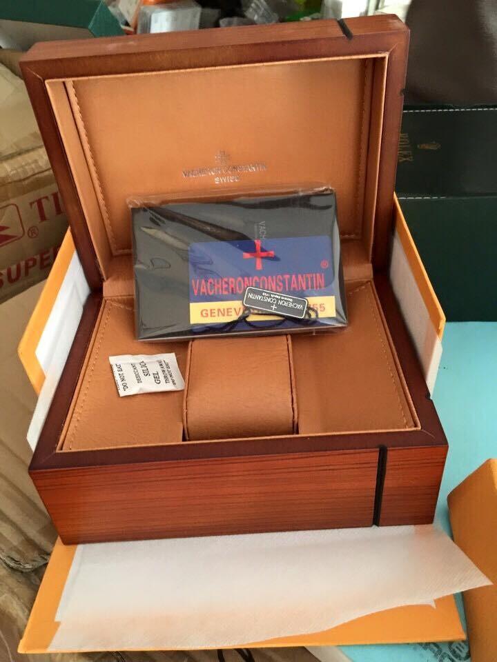Hộp đựng đồng hồ Vacheron chính hãng fullbox,Watch box Vacheron VC-01