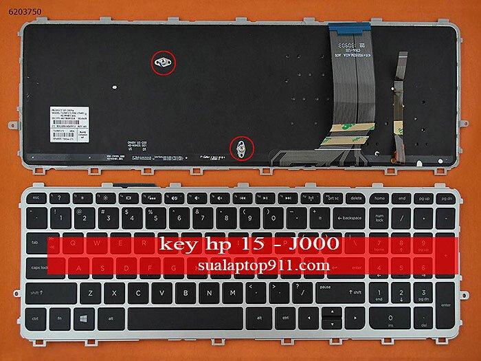 Bàn Phím Laptop HP ENVY15 - J000