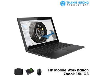 HP Mobile Workstation Zbook 15u G3 Core i7 6600 | Ram 16GB | SSD 256GB | VGA rời Render