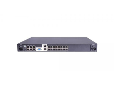 1-local/ 2-remote users 16 port CAT5 KVM over IP Switch - HT5216 (EOL)