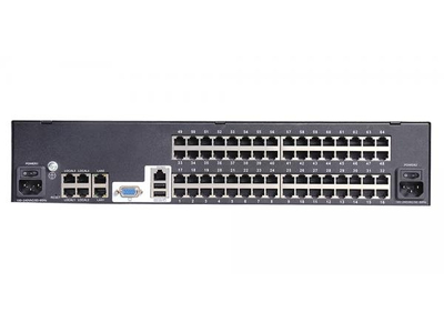 1-local/ 4-remote users 64 port CAT5 KVM over IP Switch - HT5464 (EOL)