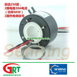HTH3099-0230-02S-250 | Slipring nhiệt độ cao | High Temperature Slip Ring | Senring Vietnam
