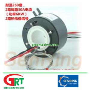 HTM034-0210-06S-250 | Slipring nhiệt độ cao | High Temperature Slip Ring | Senring Vietnam