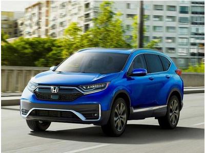 Honda CR-V 2020 ra mắt, thêm bản hybrid, loại bỏ cần số