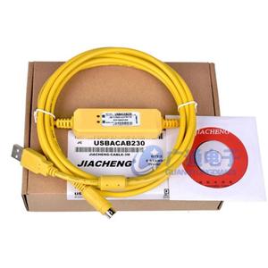 Cáp lập trình PLC Delta USBACAB230 màu vàng
