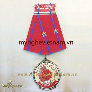 Huân chương lao động hạng nhất hạng nhì hạng ba bằng đồng