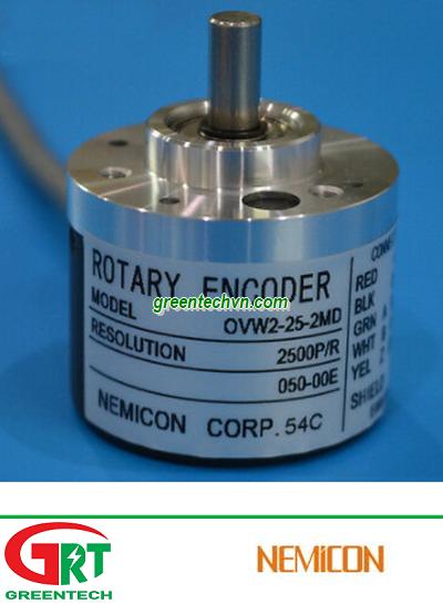 Nemicon OVW2-25-2MD | Encoder Nemicon OVW2-25-2MD | Cảm biến vòng quay Nemicon OVW2-25-2MD