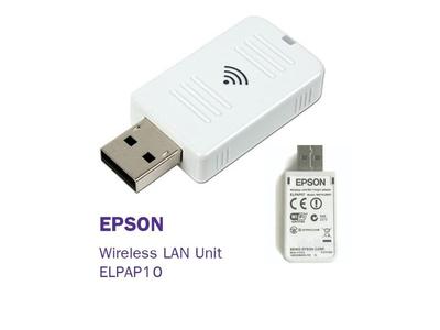 Hướng dẫn kết nối USB Wireless không dây máy chiếu Epson với laptop, điện thoại