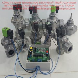 Hướng dẫn lắp đặt mạch điều khiển và van giũ bụi cho hệ thống thu hồi bụi