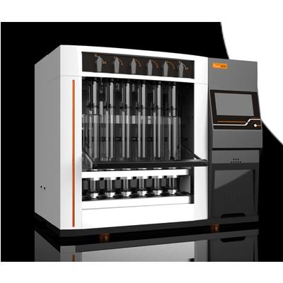 Hướng dẫn lắp rắp cài đặt hệ chiết xơ F800-Hanon Instruments