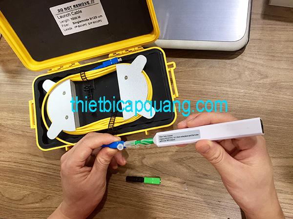 Hướng dẫn sử dụng bút vệ sinh đầu Connector quang