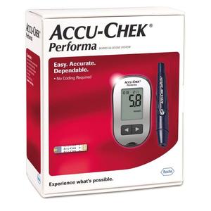 Hướng dẫn sử dụng máy đo đường huyết Accu-Chek Performa II