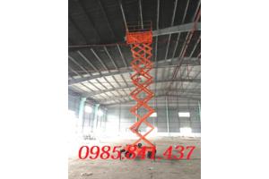 Hướng dẫn sử dụng và vận hành thang nâng cắt kéo, thang nâng ziczac 6m-16m