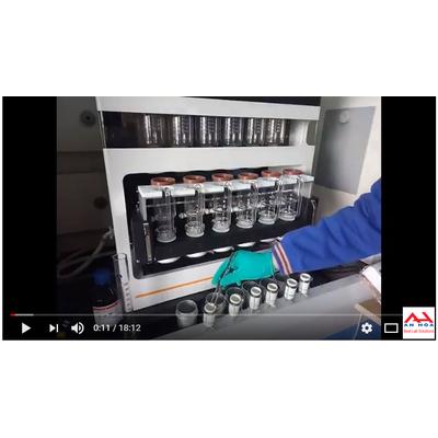 Hướng dẫn vận hành làm việc với máy chiết béo tự động SOX 606 Hanon Instruments