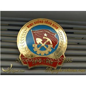 Huy hiệu Binh chủng công binh 2m1