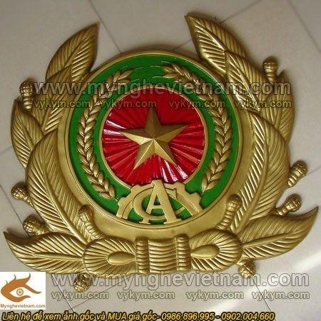 Huy hiệu Công An,chất liệu Composite,đúc huy hiệu công an nhân dân chuyên nghiệp