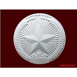 Sản xuất logo thuế nhà nước bằng nhựa composite