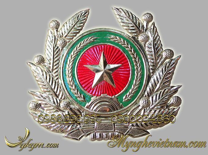 Quân đội hiệu bằng đồng 50x60cm