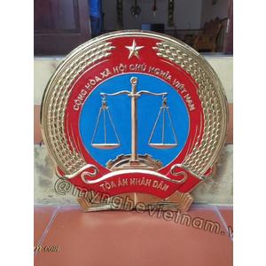 Huy hiệu tòa án bằng đồng , bằng composite