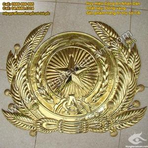 Huy hiệu Tòa Án, Huy hiệu Công An,Huy hiệu Quân Đội,Quốc huy Việt Nam,Chế tác và sản xuất chuyên nghiệp