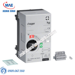 Thiết bị đóng cắt Hager (MCCB) - Model HXC051H