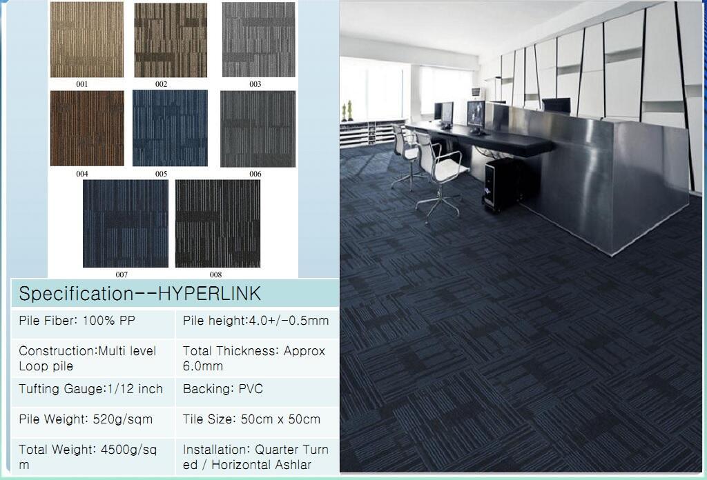 Thảm viên trải sàn Hyperlink carpet
