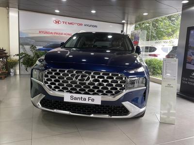 Hyundai Santa Fe 2.2 Dầu Cao Cấp 2021