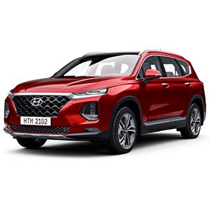 Hyundai Santa Fe 2.4 Xăng Cao Cấp