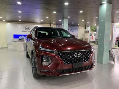 Hyundai Santafe 2021 Xăng Cao cấp (bản cũ) Hỗ trợ giảm 100% phí trước bạ