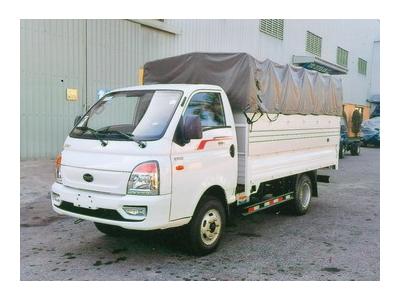Hyundai TMT Daisaki thùng bạt, tải 2,5 tấn, thùng dài 3,6 mét Euro 4