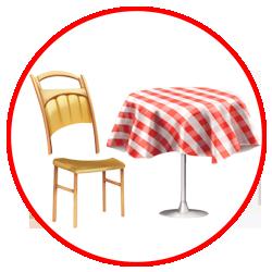 Cho thuê bàn ghế giá rẻ tại hcm