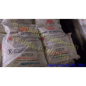Chất đuổi Oxy Sodium Metabisulphite (Na2S2O5)
