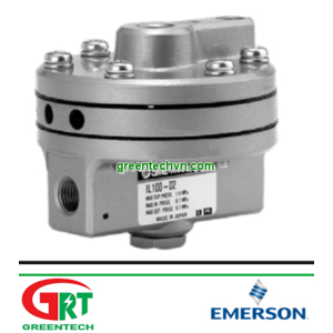 IL100-N02-SL   SMCIL100-N02-SL   booster relay, IL100 BOOSTER RELAY   Bộ tăng áp   SMC Vietnam