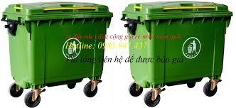 xe đẩy rác, thùng rác nhựa , thùng rác giá rẻ, mua thùng rác giá rẻ ở đâu