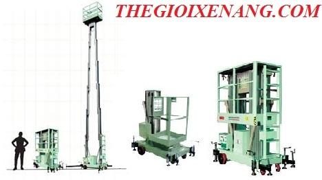 thang nâng đôi, thang nâng người opk , thang nâng giá rẻ tại tphcm , thang nâng 10 mét , thang đôi 12 mét