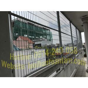 Hàng Rào Lưới Thép Giá Rẻ - Thi Công Hàng Rào Lưới Thép tại Quận Tân Phú