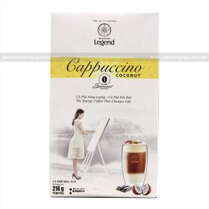 Cà Phê Hòa Tan G7 Trung Nguyên Legend - Cappuccino hương Coconut