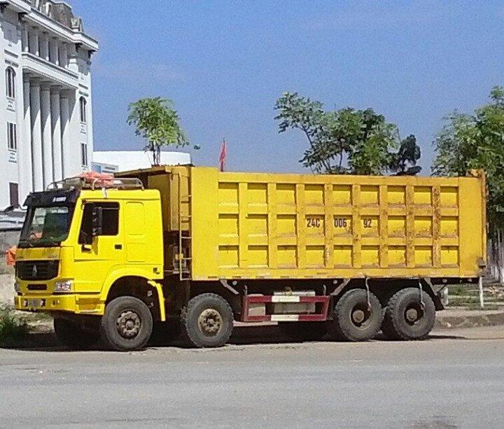 Bán xe ben 4 chân Howo 371 2011 cũ đã qua sử dụng