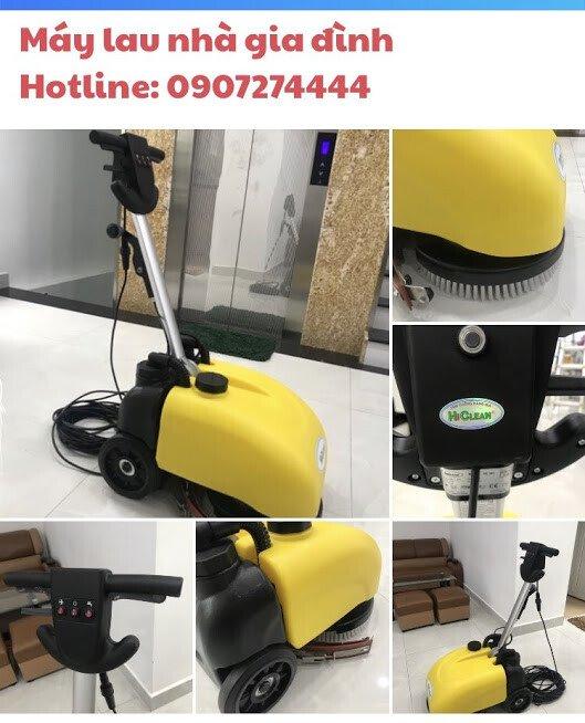 Máy chà sàn liên hợp Mini HiClean HC 201