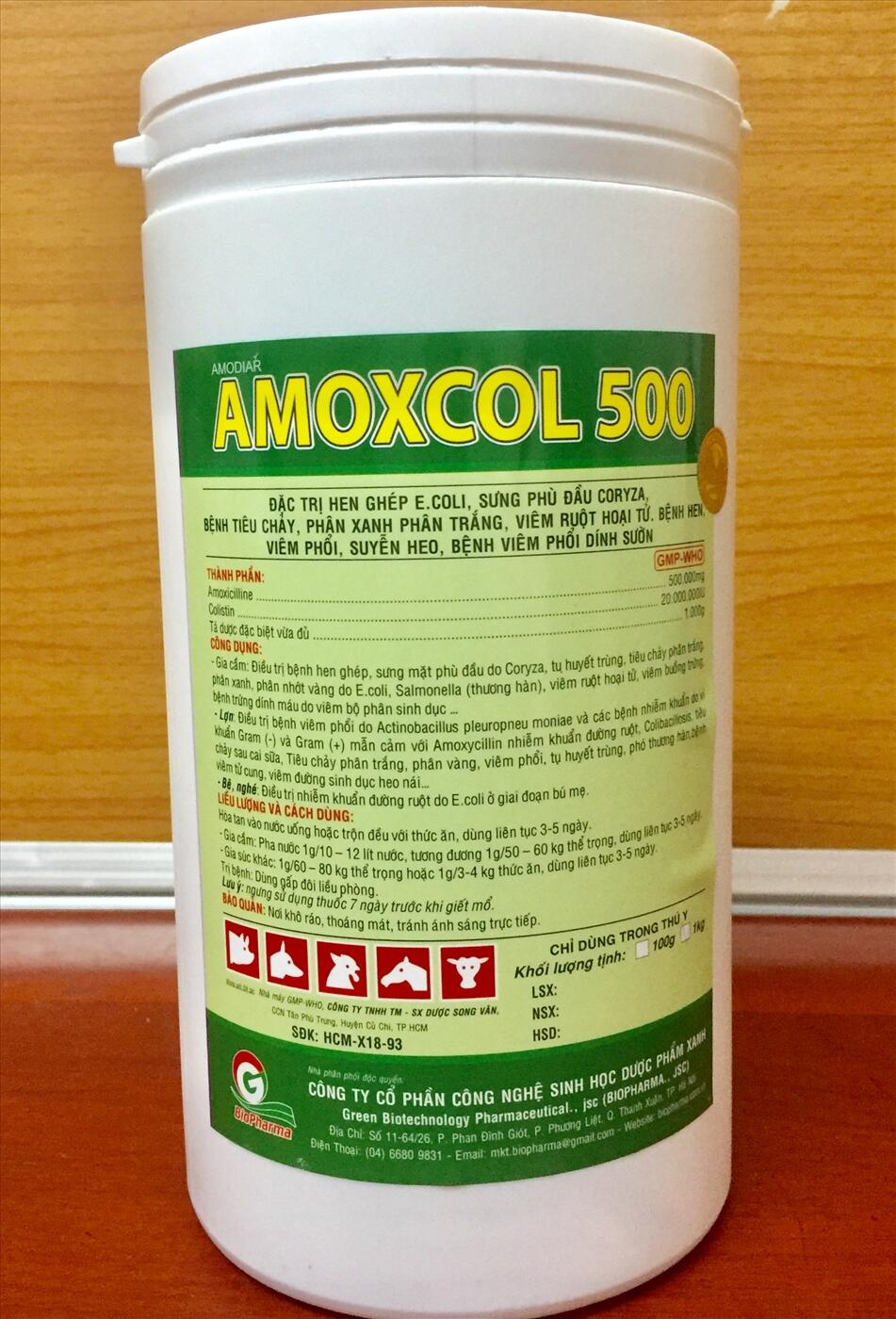 AMOX500